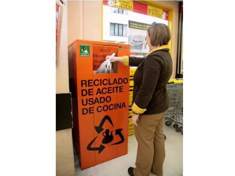 Puntos de Recogida de Aceite en Asturias